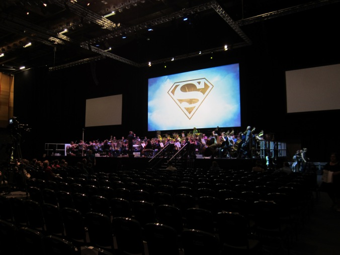 WorldCon Philharmonic Orchestra rehearsal