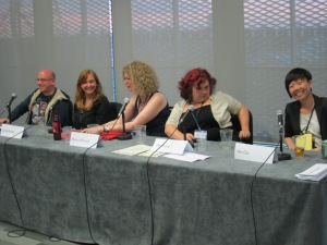 LonCon3: Comic Book Networking panel
