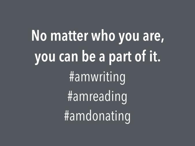 Write, Read, Donate