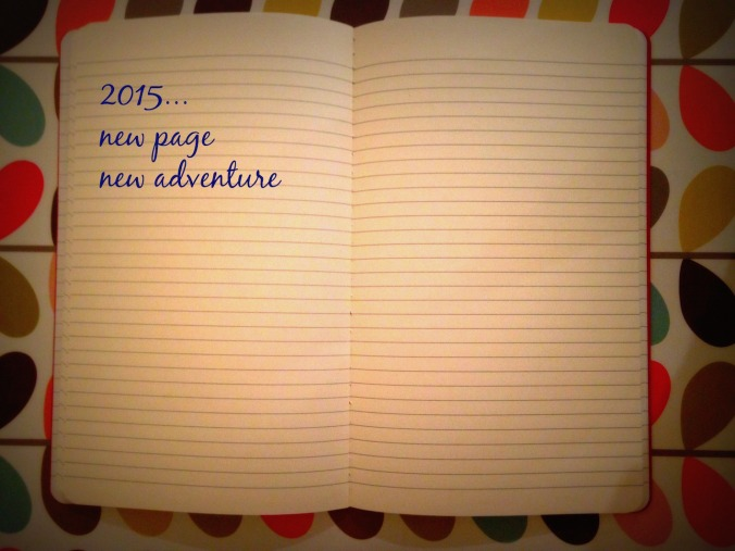New page new adventure